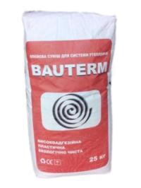 BAUTERM - Клеевая смесь для системы утепления